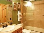 Identical Bathroom for Bedrooms 2 & 4