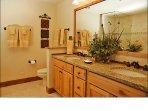 Master Bathroom - Dual Sinks, Jacuzzi Tub, Oversized Shower
