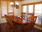 Dining Room & Balcony with Grill