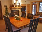 Fireside Dining for 6 to 8