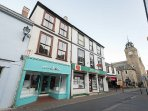Clifford house is ideally situated in the heart of Looe overlooking the main street
