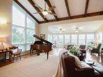 Living Room w/ grand piano