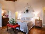 Master Bedroom w /king on main