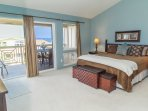 Master bedroom, overlooking the ocean