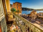 Stunning view of the bay from the balcony of Casa Carlotta