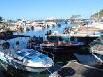 Deshaies : le port