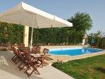 Villa Poulades | Terrace & Pool