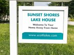Welcome to Sunset Shores Lake House!