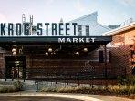 Krog Street Market is a 5 min drive away