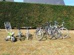 Vélos prêtés gratuitement