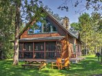 Let this magnificent cabin be your home during your relaxing retreat to Nisswa, Minnesota!