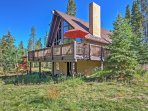 This mountain home features a large private deck that not only promises scenic views, but also offers the perfect space...