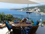 Terrace with the best amazing sea view