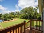 Gorgeous View of the Backyard overlooking the Bayou.