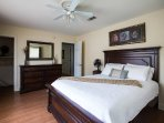 2nd Bedroom with Queen and optional Twin mattress.