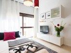Amplio y cómodo sofá-cama