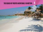 Riviera Maya Haciendas, Casa Arena - The beach of Puerto Aventuras: 50m