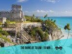 Riviera Maya Haciendas, Villa Alma Rosa - The ruins of Tulum: 15 min