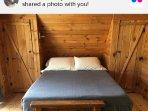 Bedroom, mattress is a full size #TuftandNeedle