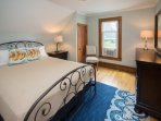 1 of the Jack/Jill bedrooms-queen bed and separate entrances.