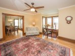 Entry/foyer with writing desk.