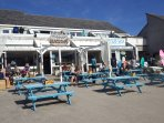 Enjoy Friday burger night at Porthtowan beach cafe