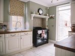 Well equipped kitchen with dishwasher and fridge freezer