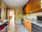 Kitchen through to lounge/dining area