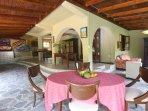 Villa Zatarra Dining inside option