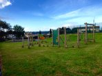 Child's play area - 3 minutes walking distance from cottage.