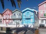 Characterful beach houses,Casa Nova,near Aveiro,an hours drive from Casa Lerryn.
