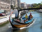 Who needs Venice!,Aveiro is an hours drive from Casa Lerryn. Pretty canal trips and brilliant shops
