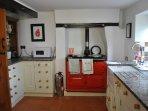 Main kitchen - Aga and units
