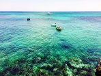snorkelling is very popular in the shallow waters