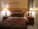 Queen bed with premium mattress