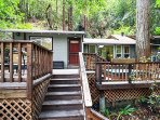 Above and Beyond, hillside home in Guerneville, Dog Friendly