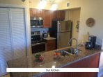 You can cook in with all conveniences of a fully stocked kitchen.