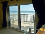 Master Bedroom Suite with Direct Oceanfront Balcony View