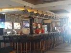 bar and restaurant inside condominium
