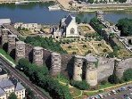 Angers chateau (great shopping in Angers too!) (45 min drive approx).