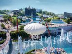 The famous Futuroscope at Poitiers (1h35 drive approx).