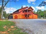 The property sits on 488 acres of rolling hills for the ultimate privacy setting.