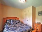 All 4 bedrooms offer plush beds.