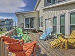 You'll love relaxing on the expansive wraparound deck.