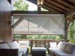 Lovely covered terrace