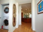 Entryway and Full Size Washer and Dryer