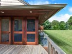 Deck, Screened Porch, Yard and Outside Shower