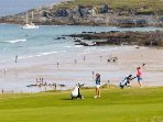 NEWQUAY GOLF COURSE - amazing sea views from here