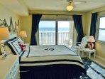 Master Bedroom Suite (Queen bed) w/ Direct Oceanfront Balcony View
