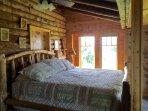 King Log Bed